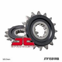 JT Rubber Cushioned Front Drive Motorcycle Sprocket JTF1591RB 16 Teeth