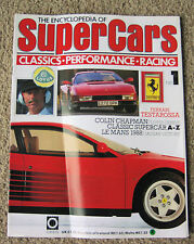 Encyclopedia of Super Cars 119 issues Jaguar Lotus Alfa Ferrari AC Ardath Jaguar