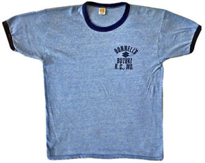 80s Hanson Roofing Illinois Jersey V-Neck t-shirt Large
