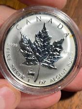 1998 Silver 1 oz Maple TITANIC Privy Mark Gem X58