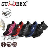 Chaussures de sécurité femme S3 SRC Chaussure de travail Bottes Baskets léger