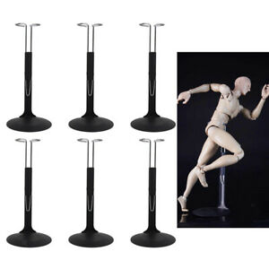 6Pcs Action Man Show Stand   Holder Bracket 1/6 Scale Assembly 10-14cm