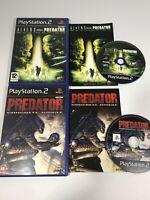 Aliens vs Predator: Extinction & Concrete Jungle PlayStation PS2 PAL AVP