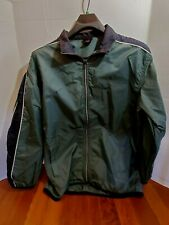 NIKE Mens XL Light weight Golf Jacket Long Sleeve Zip Up Wind Breaker