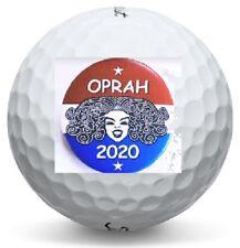 1 Dozen Oprah For President 2020 Logo Warbird Mint Aaaaa Golf Balls