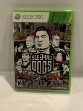 SLEEPING DOGS Xbox 360 Complete in Box w/ Manual CIB Acceptable