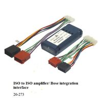 Nissan - X-Trail 2007 to 2014  ISO to AMPLIFIER BOSE INTEGRATION INTERFACE LEAD