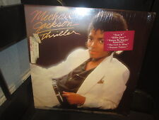 "Michael Jackson Thriller ""Epic"" Album LP 1982 Unopened  -ORIGINAL-mint"