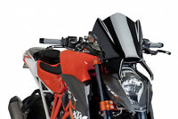 PUIG NAKED N.G. SPORT SCREEN KTM 1290 SUPERDUKE R 14-16 BLACK