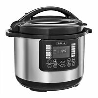 10-Qt Instant Pot Slow Pressure Multi Cooker Stainless Steel Space Saver LCD