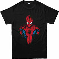 Spiderman T-Shirt, Marvel Comics Superheroes Gift Unisex Adult & Kids Tee Top