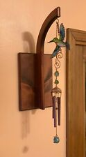 Wind Chime Display | Handcrafted | Made in USA | Wall-mounted Chime Hanger
