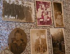 Lot of 6 Antique Black Americana Photographs
