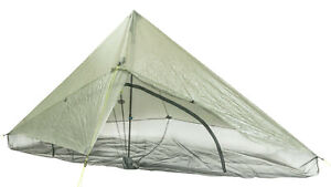 Zpacks Hexamid Solo Tent Ultralight 10.4oz DCF 1 person shelter