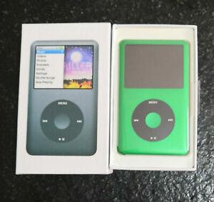 Apple iPod Classic 7th Generation 128GB Green SSD Custom (2000mAh) LATEST