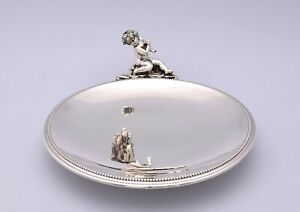 SOLID SILVER TRAY FROM THE GEORG JENSEN STORE