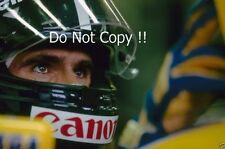 Damon Hill Williams 1993 fotografía de retrato F1 2