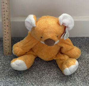 TY PLUFFIES 2003 POOKIE ORANGE BABY KOALA TEDDY BEAR STUFFED ANIMAL PLUSH TOY