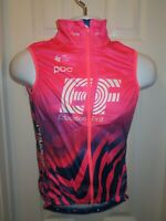 NEW 2020 RAPHA EF Pro Cycling Team Rain Gilet Vest Wind Water Pink Small S RARE