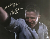 "TOM WILSON SIGNED AUTOGRAPH ""BACK TO THE FUTURE"" 16X20 PHOTO - BIFF BECKETT 2"