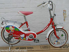 "Bridgestone Hello Kitty 14""wheel Campagnolo Phil Wood Child's Bicycle '76 tennis"