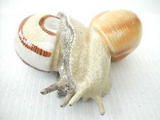 KLIMA K970 Miniature statuette en porcelaine - COUPLE ESCARGOTS ESCARGOT N° 1