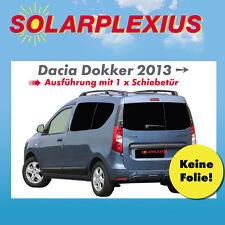 Auto-Sonnenschutz Scheiben-Tönung  für DACIA DOKKER Sichtschutz Komplettsatz