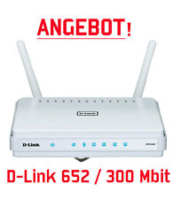 D-Link DIR-652 DE Wireless LAN Gigabit Router 4-Port Switch 300Mbit WLAN DIR652