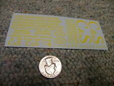 Herald King decals HO Chicago Southern Linking Industrial America yellow ZZ124