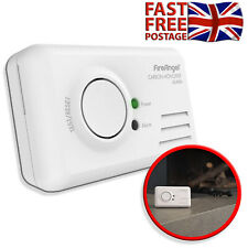 Carbon Monoxide Alarm CO2 Detector LED Battery Powered Easy Install Loud 85 DB