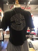 Brandy Melville black wash crewneck Aleena Red California graphic top NWT sz S/M