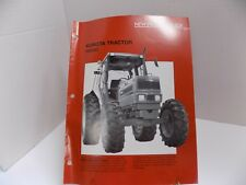 KUBOTA TRACTOR M8580 NEW PRODUCT GUIDE 21 pps AUTHENTIC OEM