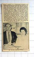 1963 Mr,Mrs Garfield Tonkin Causewayhead Newsagents