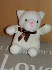 ☀ PELUCHE OURS NOUNOURS BLANC TBE ☀