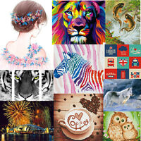 Full Drill Animals 5D DIY Diamond Painting Embroidery Cross Stitch Decor Craft