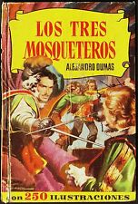 Col. HISTORIAS nº  10: LOS TRES MOSQUETEROS. Bruguera, 2ª ed. 1957. Ambrós.