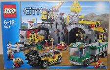 Lego City 4204 Bergwerk - The Mine mit allen Figuren OVP Anleitung 100% komplett