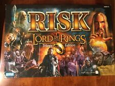 RISK Lord Of The Rings Trilogy Edition Board Game Parker Brothers