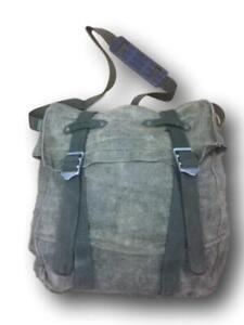 Swedish Army Re-Made Gas Mask Bag Shoulder Bag
