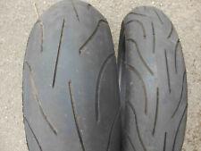 Reifen Satz  Michelin Pilot Power 190 / 50 ZR 17 73W 120 70 ZR 17 58W TL R1 1000