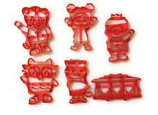 Daniel Tiger Cookie Cutter Set for use on cookie dough and fondant