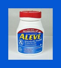 Aleve Pain Reliever/Fever Reducer Naproxen Sodium Tablets, 220mg, 200 ct