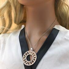 $7500 / NEW / Rare Limited Edition / EFFY Logo Diamond necklace / 14K