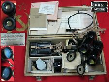 Soviet Russian Military Marine Binocular Night Optical Micrometer BNM 1978 USSR