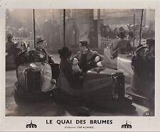 Pierre Brasseur M. Morgan Gabin Le Quai des brumes Carné Original Vintage 1938