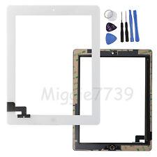 für Apple iPad 2 HQ Touchscreen Digitizer Glas Display Scheibe Bildschirm Weiß