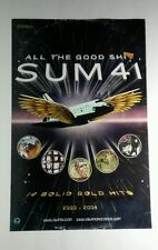 SUM 41 ALL THE GOOD SHI* OLD COMPUTER PLANE WINGS BAND 11x17 MUSIC POSTER