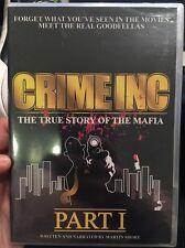 Super Rare Brand New Crime INC Part 1 True Story Of The Mafia DvD Sealed