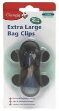 Clippasafe Pram Stroller Pushchair Buggy Bag Clips X2 Baby Travel Accessory Extra Large
