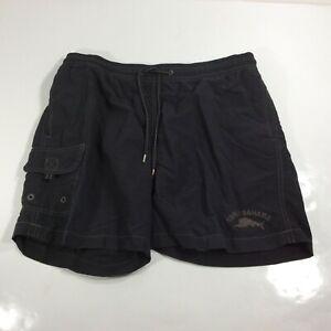 Tommy Bahama Relax Men's Size Medium Black Swim Trunk Bottom Lined Shorts